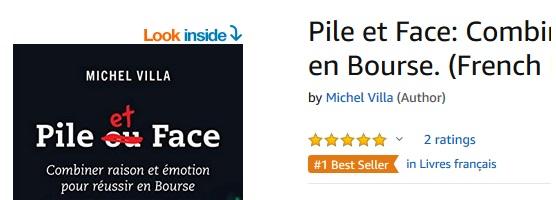Un best-seller sur Amazon! Sauf que…
