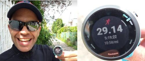 Courir 47 km pour mes 47 ans!